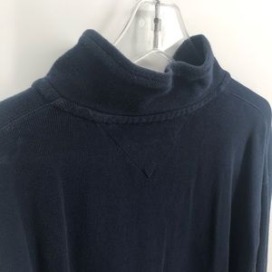Tommy Hilfiger Sweaters - Blue Tommy Hilfiger 1/2 Zip Pullover Mens Size XXL